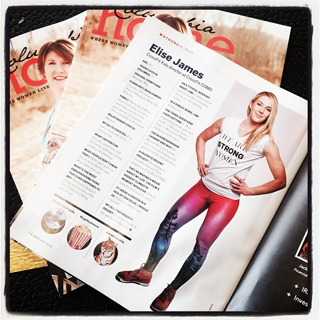 Elise James Featured in Columbia Home Magazine - CrossFit COMO