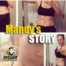 Mandy Grados – 1 year transformation